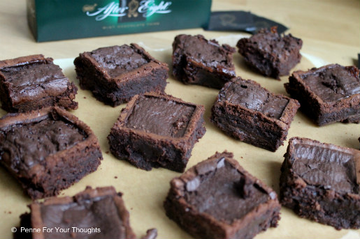 After Eight Brownies Recipe