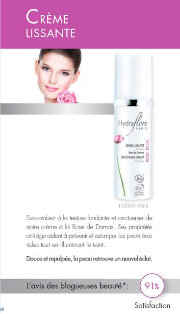 """La gamme Hydraflore """"Rose Eclat"""""""