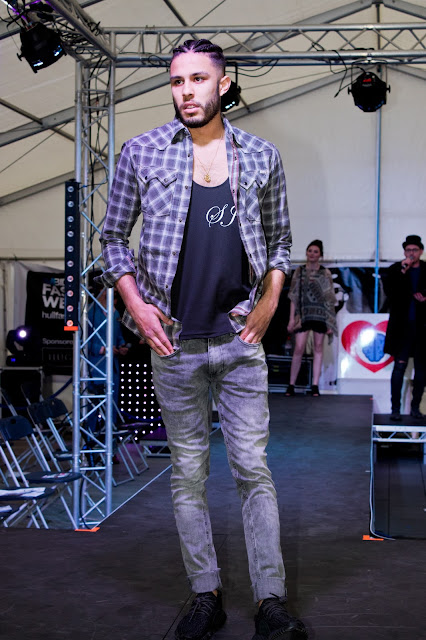 Hull Fashion week 2016 male model
