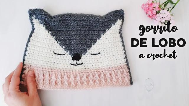 Paso a Paso de Gorrito Lobo a Crochet
