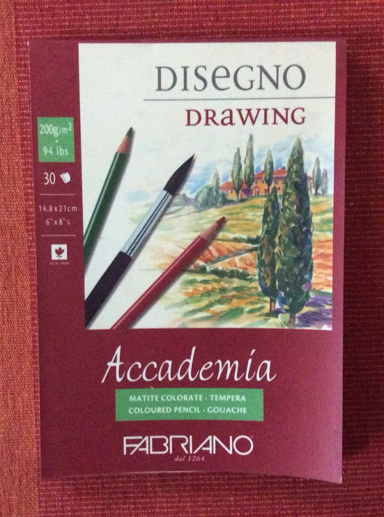 fabriano sketch pad for charcoal painting and graphite sketching