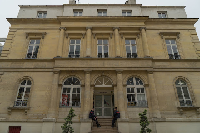 Le palais Violet devenu caserne de pompiers