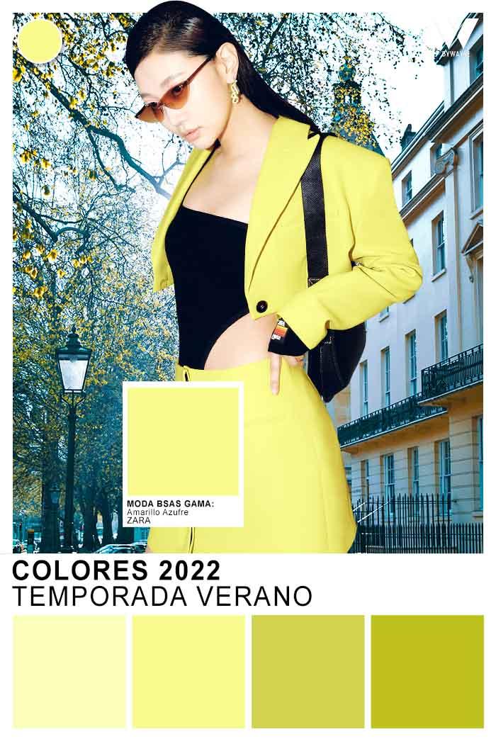 colores de moda primavera verano 2022 verdes