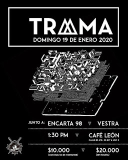 Concierto de TRAMA en Bogotá, Colombia