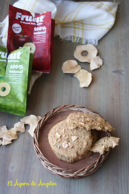 galletas, galletas de manzana,manzanas deshidratadas