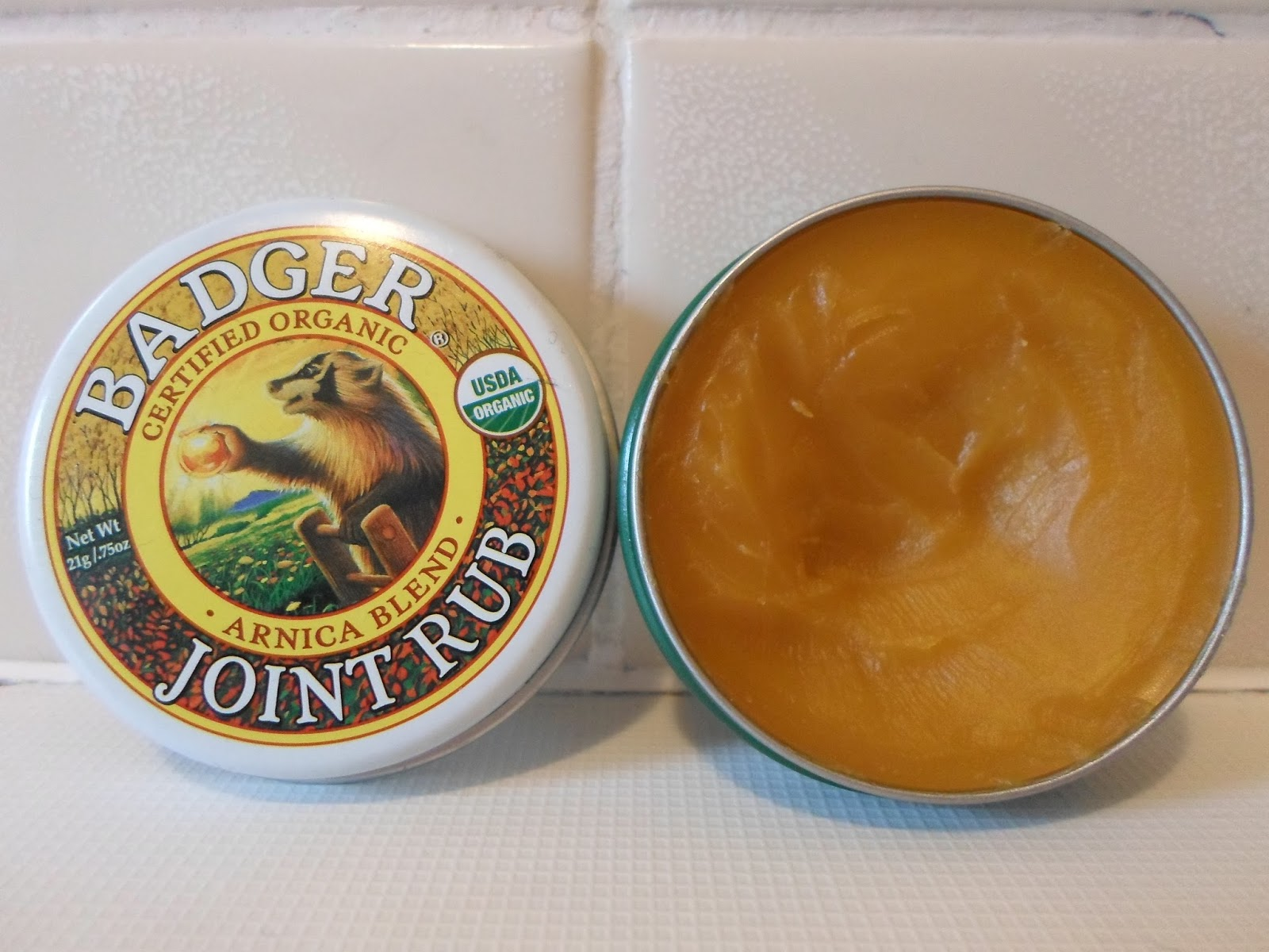 Review Badger Balm Arnica Blend Joint Rub