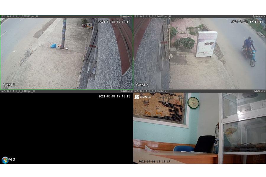 kết nối C6N với đầu ghi hình KBVISION