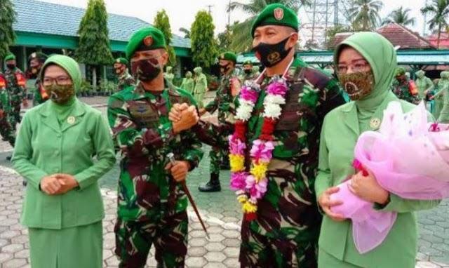 Letkol Inf. Erwin Iswari S.Sos, M. Tr (Han) Resmi Menjabat Dandim 0404 Muara Enim yang Baru