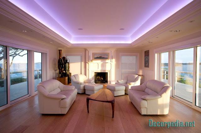 pop design, pop false ceiling design ideas for living room and hall 2019, hall false ceiling with backlight