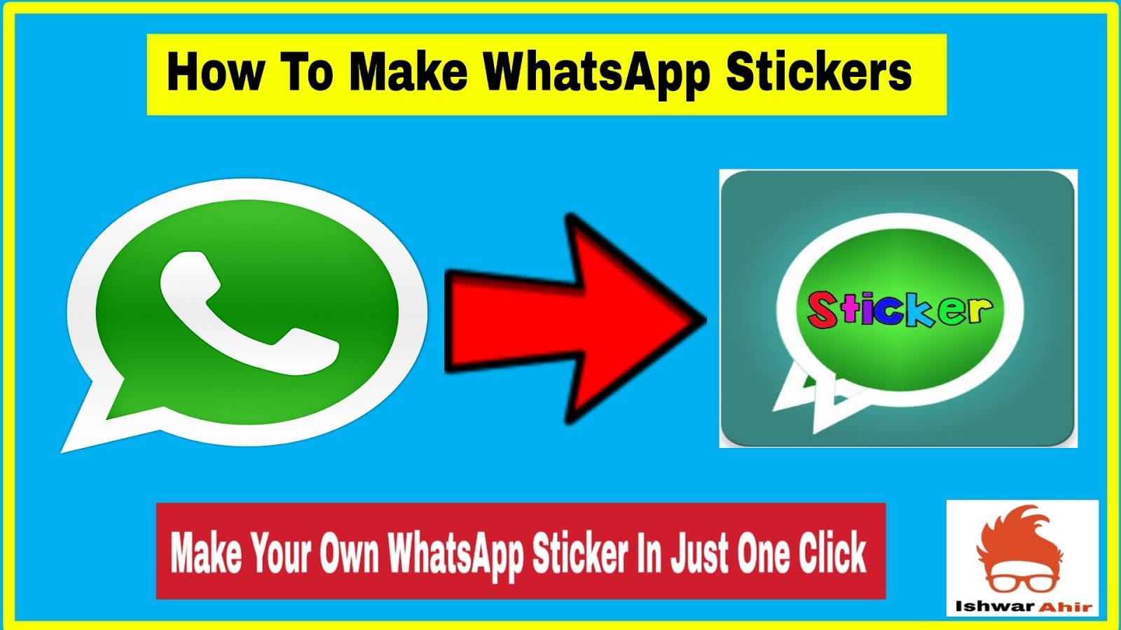 How to Make Whatsapp Sticker