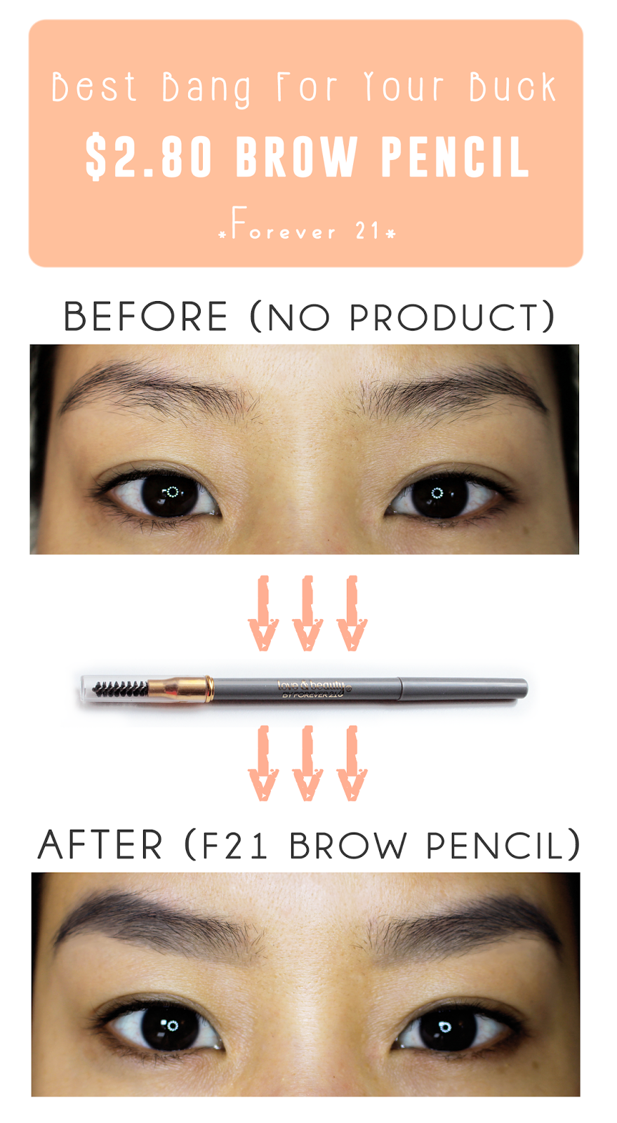 Be Linspired: Forever 21 Retractable Eyebrow Pencil ...