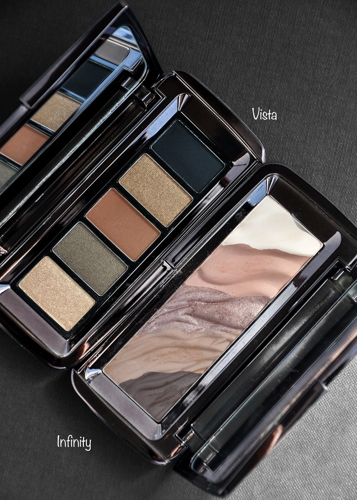 Hourglass Cosmetics Vista Graphik Eyeshadow Palette review and swatches