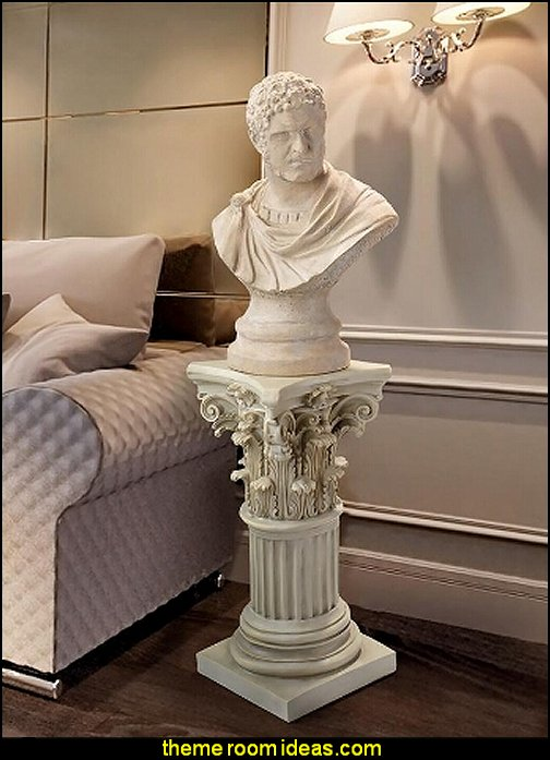 Caracalla, Roman Emperor Marcus Aurelius Sculptural Bust