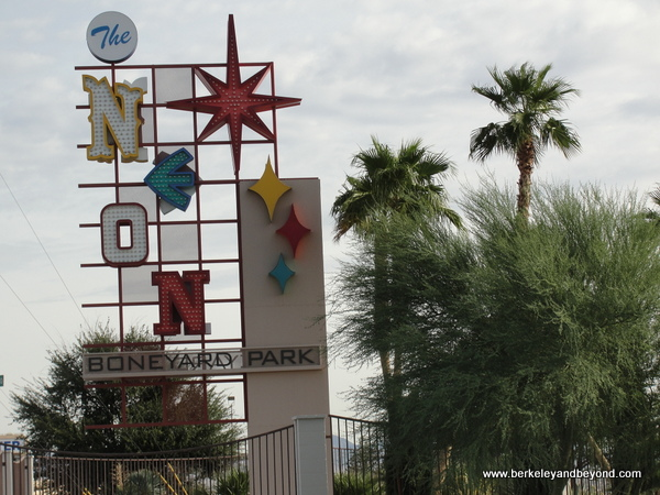 sign for The Neon Museum in Las Vegas, Nevada