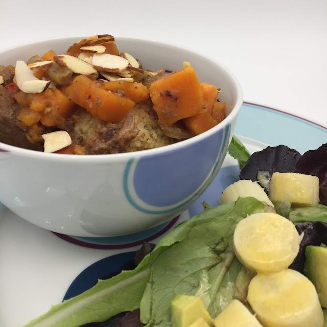 Livliga Lamb Tagine healthy recipe on Halsa