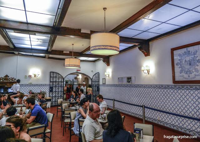 Salão da Fábrica de Pastéis de Belém, Lisboa, Portugal