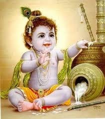 cute baby krishna images HD.