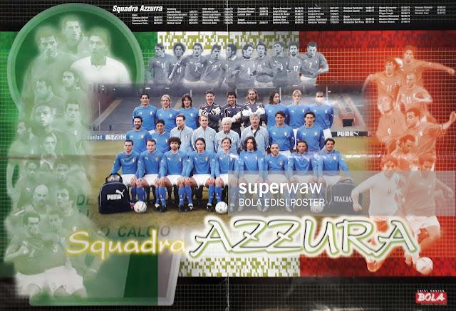 FULL TEAM SQUADRA AZZURA ITALIA 2003