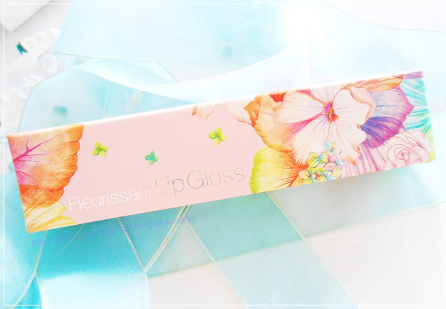 Glamfox Fleurissant Lip Gloss GS03 Peach flower