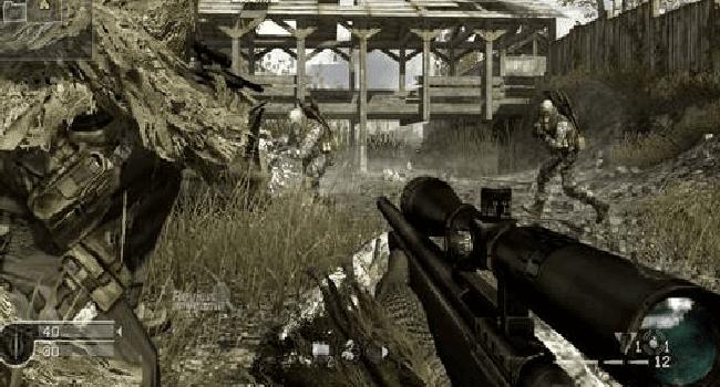 تحميل لعبة Call Of Duty 4 مضغوطة