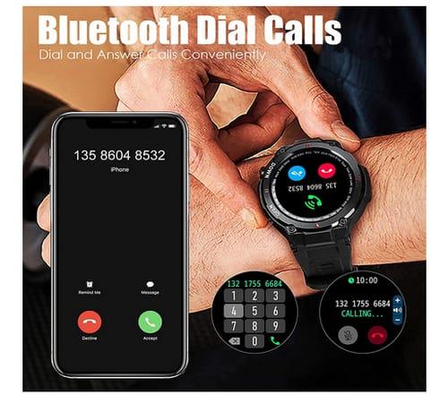 EIGIIS 2021 Calls Built in Speaker Smart Watch