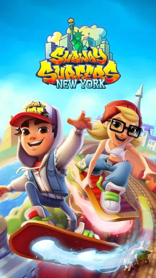 Subway Surfers v2.14.4 MOD, Coins/Keys/All Characters - Game giải trí cho điện thoại