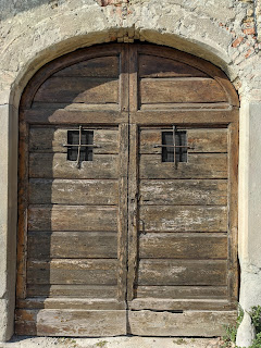 An old church - structure and door detail on Via Castello Presati.