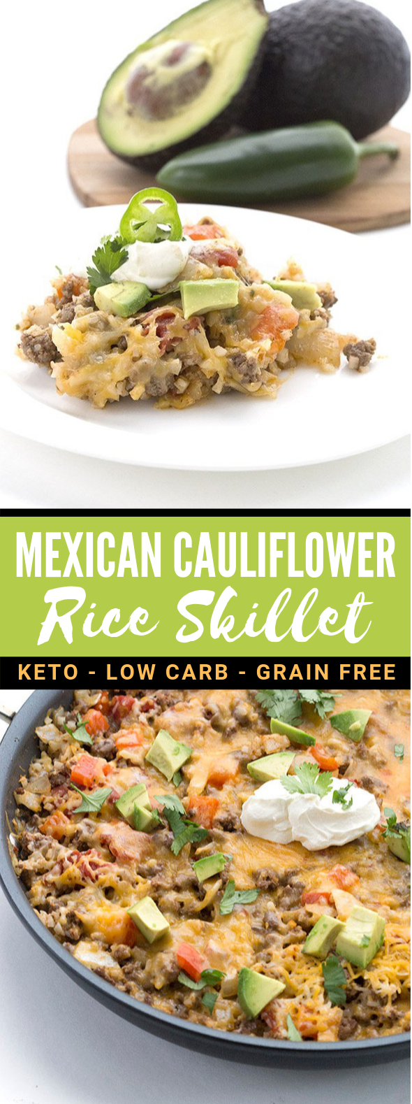 LOW CARB MEXICAN CAULIFLOWER RICE #thm #diet