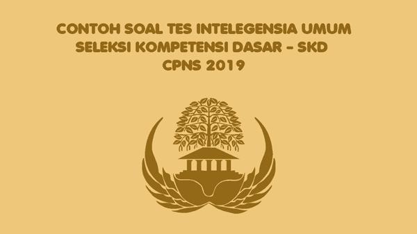 3.3 pengetahuan dan pemahaman umum; Contoh Soal Tes Intelegensia Umum Tiu Cpns 2019 Bank Soal Cpns