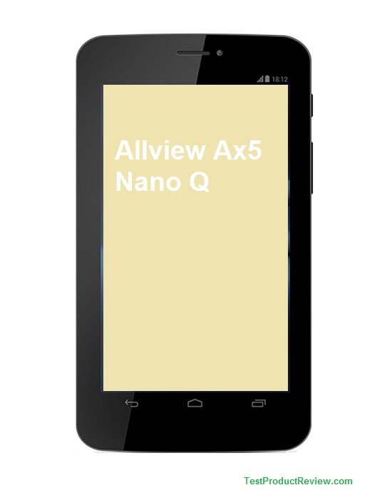 Cheap Android tablet Allview AX5 Nano Q