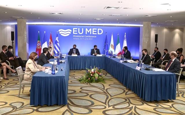 Κοινή διακήρυξη Med7: Στρατηγικής σημασίας η Μεσόγειος για τη ευημερία της ΕΕ