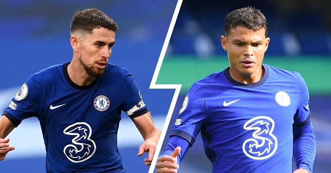 Chelsea midfielder Jorginho disclose how he helps Thiago Silva with English language during match