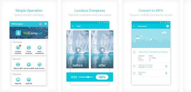 VidCompact Aplikasi Android Video Converter Terbaik