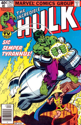 Incredible Hulk #242, Tyrannus