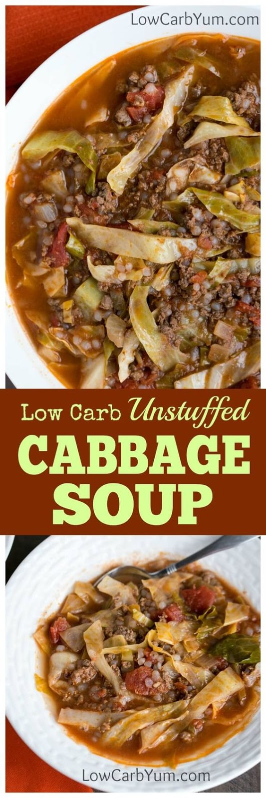 Easy Unstuffed Cabbage Soup Recipe