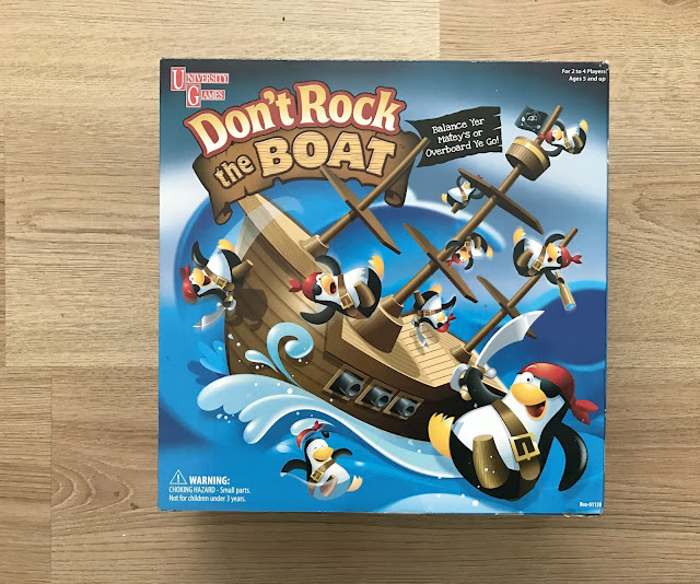 Don't Rock The Boat Board Game in Box