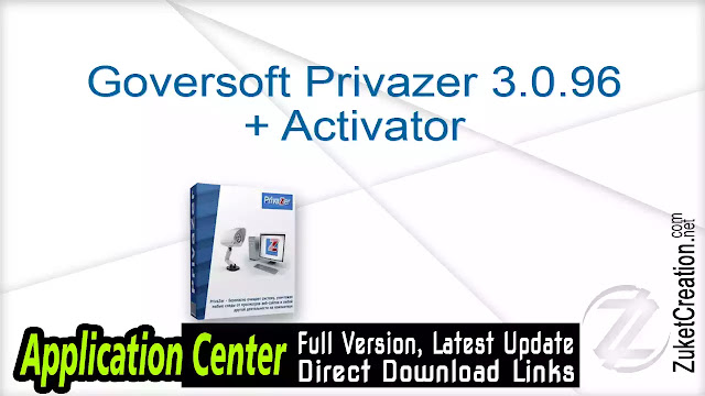 Goversoft Privazer 3.0.96 + Activator