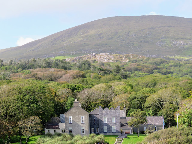 Derrynane House on the Ring of Kerry near Waterville Ireland