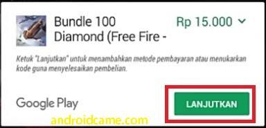 Langkah-langkah Membeli Top Up Diamond Free Fire Di Indomaret