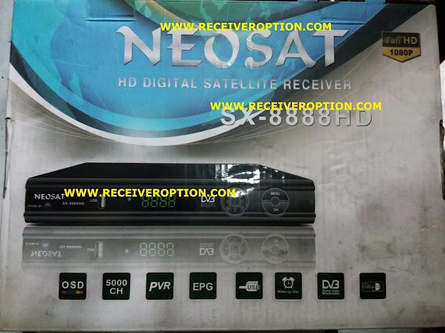NEOSAT SX-8888 HD RECEIVER CCCAM OPTION