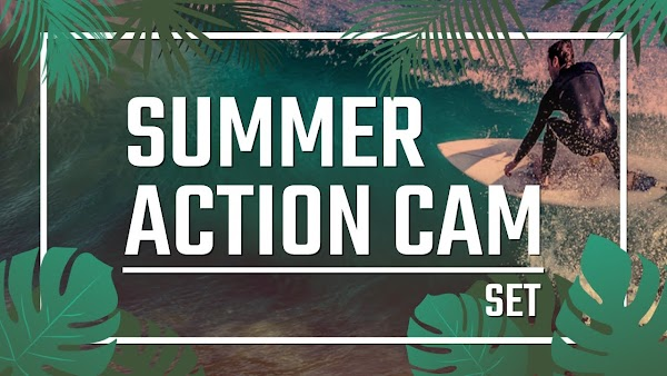 Filmstocks Effects Summer Action Cam Set   Filmora Collection