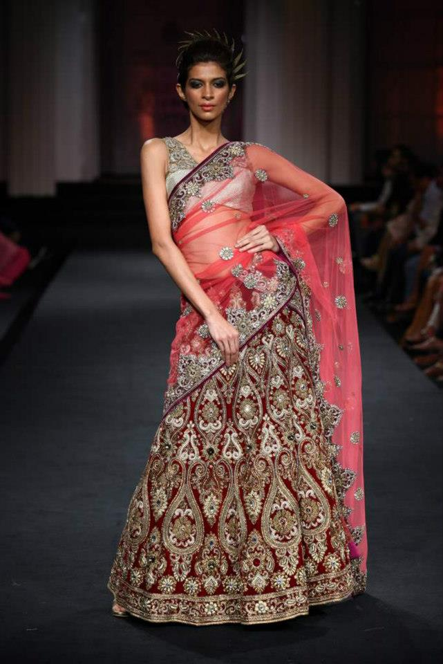 Chicboutique: Vikram Phadnis Bridal Collection IBFW 2012 ...