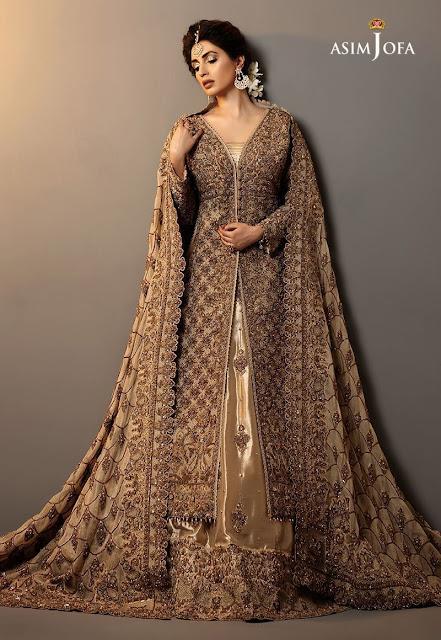 New latest Asim Jofa Bridal dresses collection