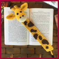 Marcapáginas jirafa