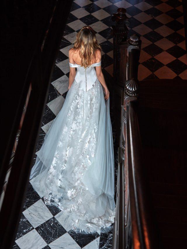 vestidos de novia elegantes corte sirena con encaje