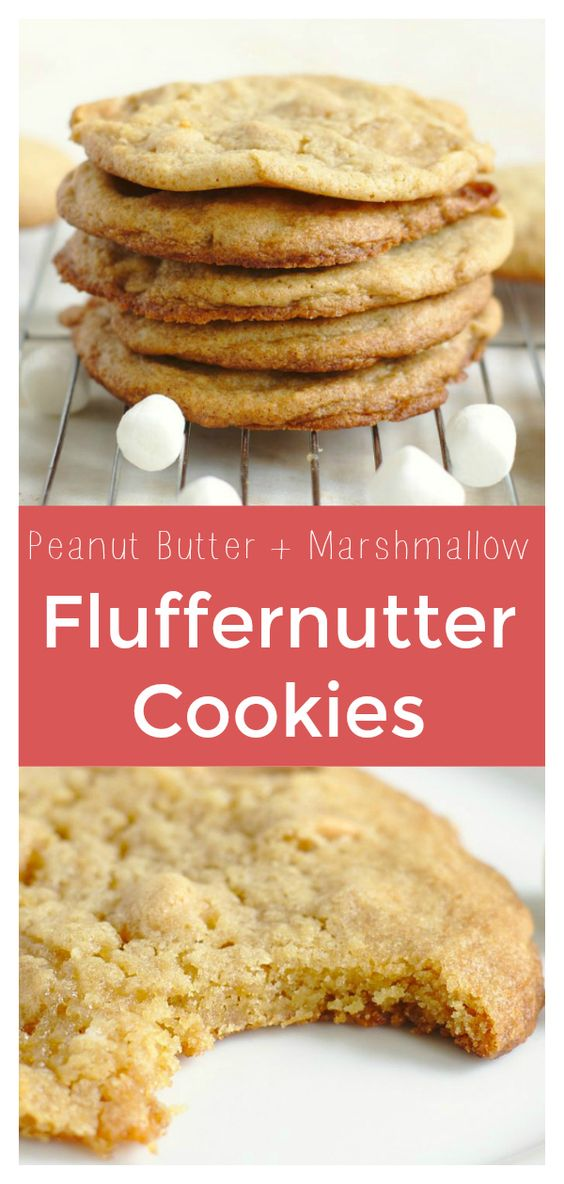 Fluffernutter Cookies