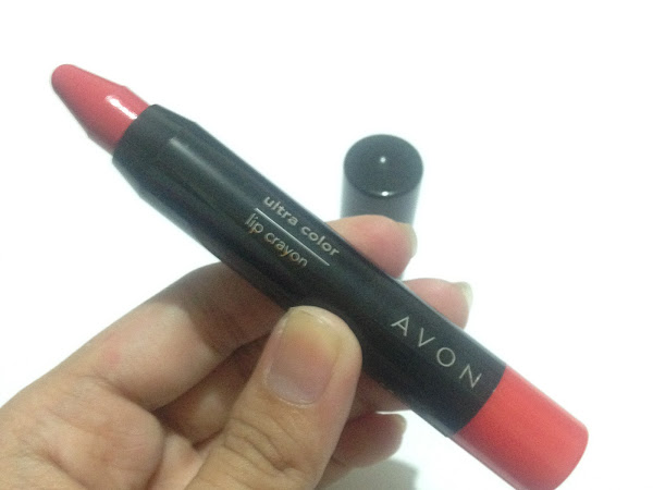 New Avon Ultra Color Lip Crayon in Just Rosy