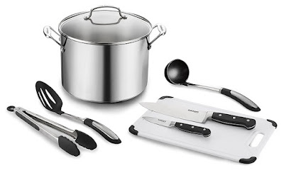 Cuisinart Chef's Classic 10 Quart Stockpot with Essential Tools $70 (reg $160)