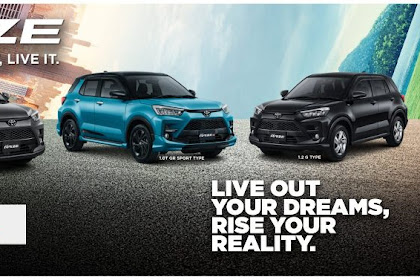 SUV Murah & Keren 2021.!! : Harga TOYOTA RAIZE 2021 Indonesia