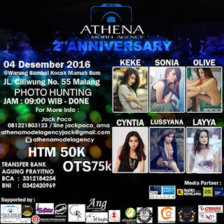 Event Photography - AMA Athena Model Agency Malang